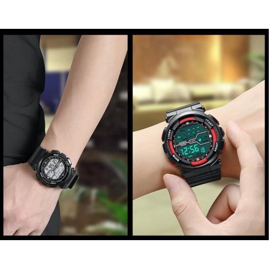 Reloj digital de hule marca HONHX modelo 82-S612 REL00103