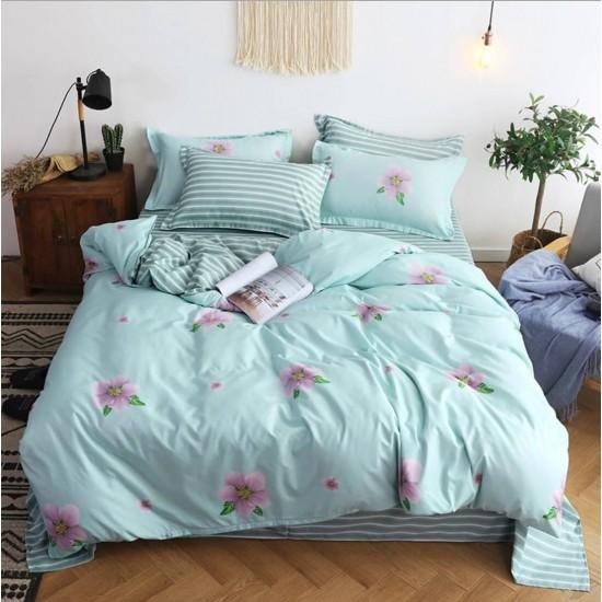 Juego de sabanas, sabana y cobertor de algodón SAB00001G