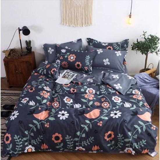 Juego de sabanas, sabana y cobertor de algodón SAB00001H