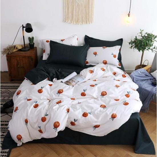 Juego de sabanas, sabana y cobertor de algodón SAB00001K