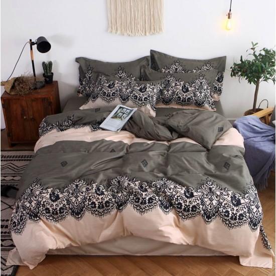 Juego de sabanas, sabana y cobertor de algodón SAB00001B
