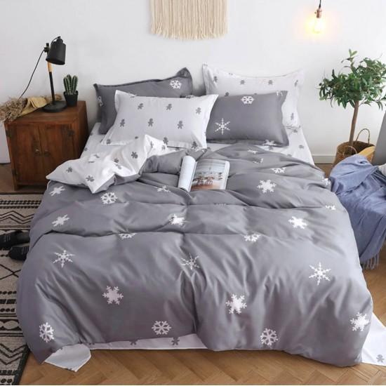 Juego de sabanas, sabana y cobertor de algodón SAB00001C