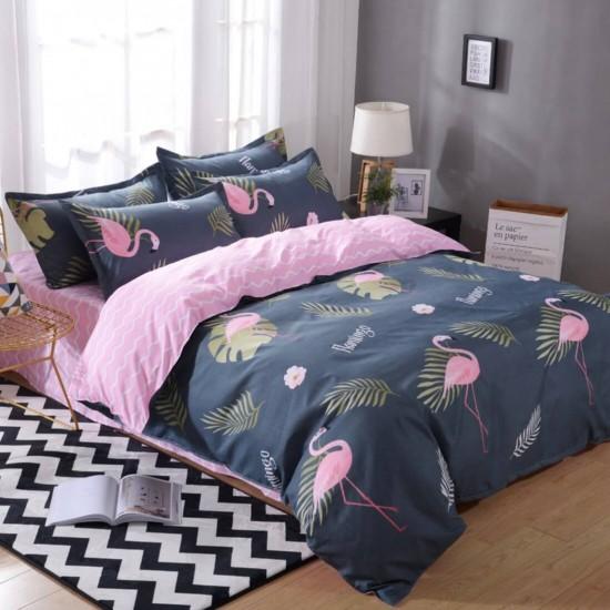 Juego de sabanas, sabana y cobertor de algodón SAB00001E