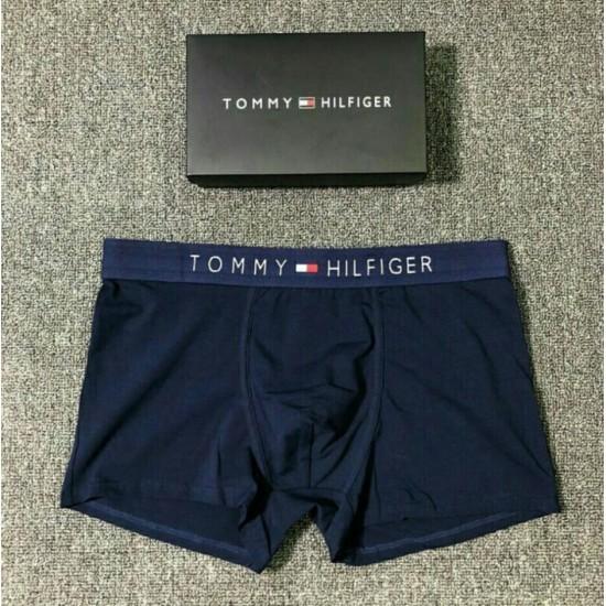 BOXER TOMMY HILFIGER DE ALGODÓN PARA HOMBRE, AZUL OSCURO BOX00009B