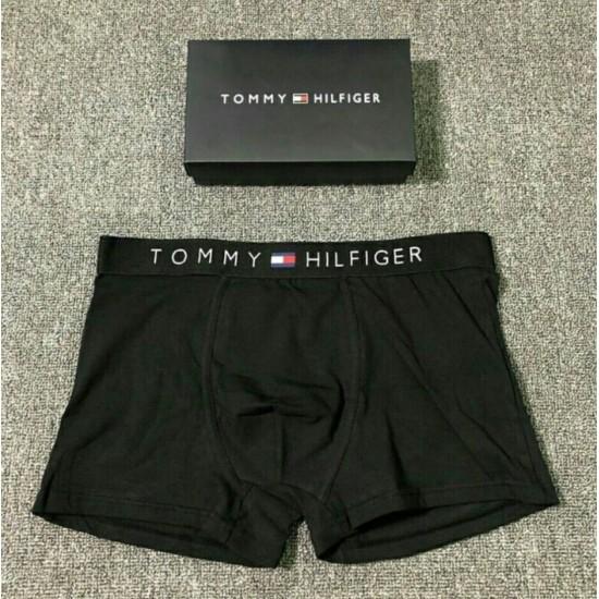 BOXER TOMMY HILFIGER DE ALGODÓN PARA HOMBRE, NEGRO BOX00009C
