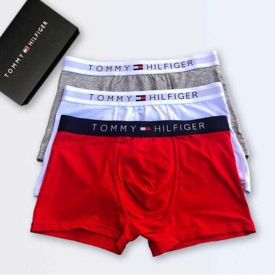 BOXER TOMMY HILFIGER DE ALGODÓN PARA HOMBRE, ROJO BOX00009D