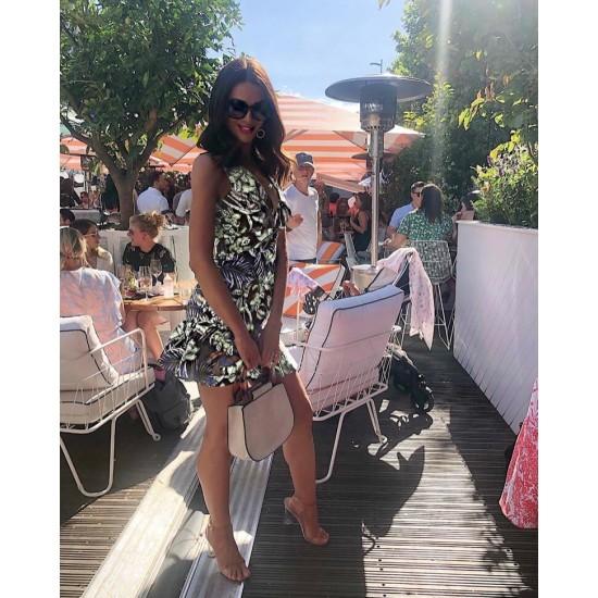 Vestido para mujer sin mangas color blanco VES00001B