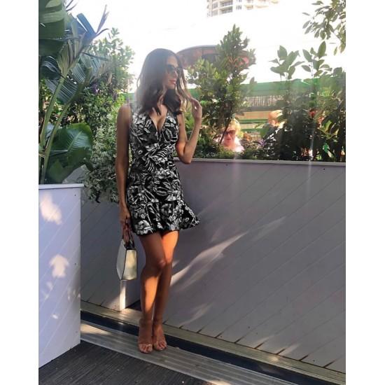 Vestido para mujer sin mangas color negro VES00001C