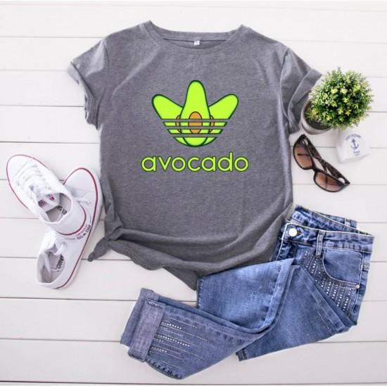 Camiseta para mujer divertida con diseño de aguacate CAM00014A