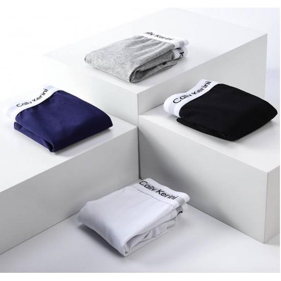 Boxers para hombre, juego de 3 piezas negro, blanco, gris BOX00003B