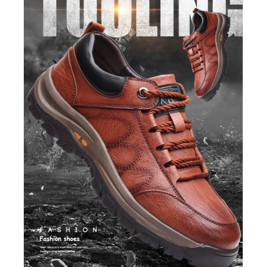 Zapato deportivo para hombre, café ZAP00061B