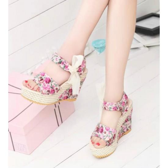 Sandalias para mujer punta abierta, plataforma ZAP00014A