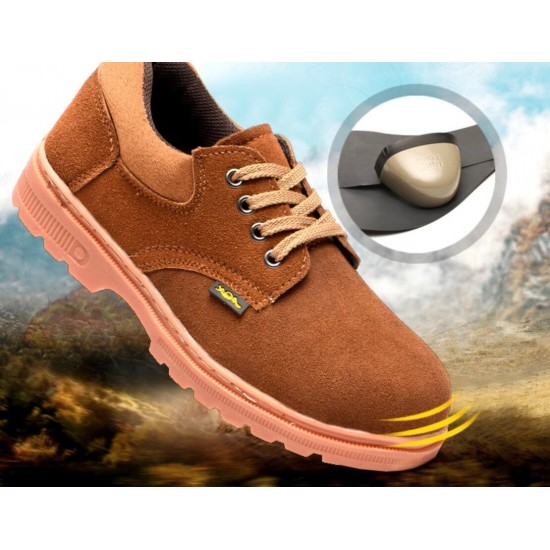 Zapatos de trabajo de gamuza con suela antideslizante ZAP00022