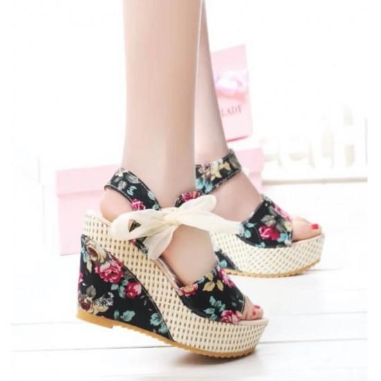 Sandalias para mujer punta abierta, plataforma ZAP00014B