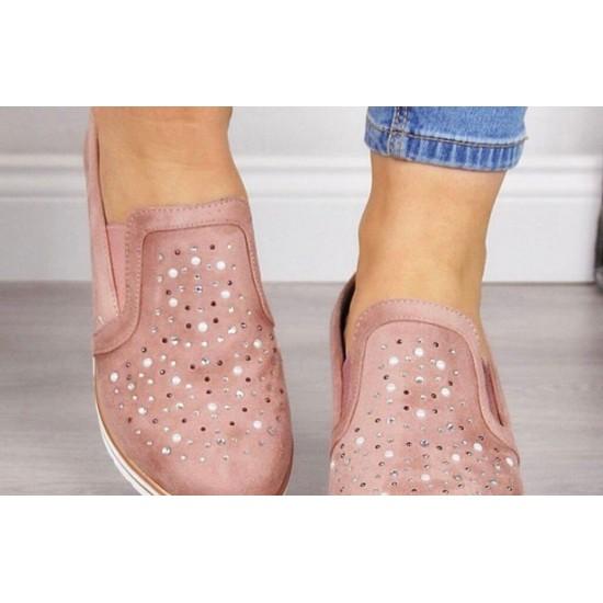 Zapato femenino de ntalon alto (rosado) ZAP00039B