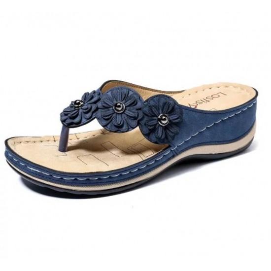 Sandalia ortopédicas (azul) ZAP00047B