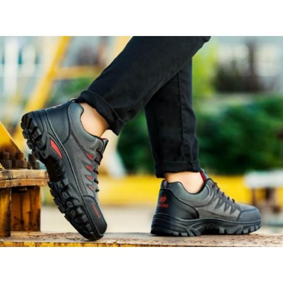 Zapatos de Senderismo Resistente al Agua, Antideslizante, Ligero ZAP00049B