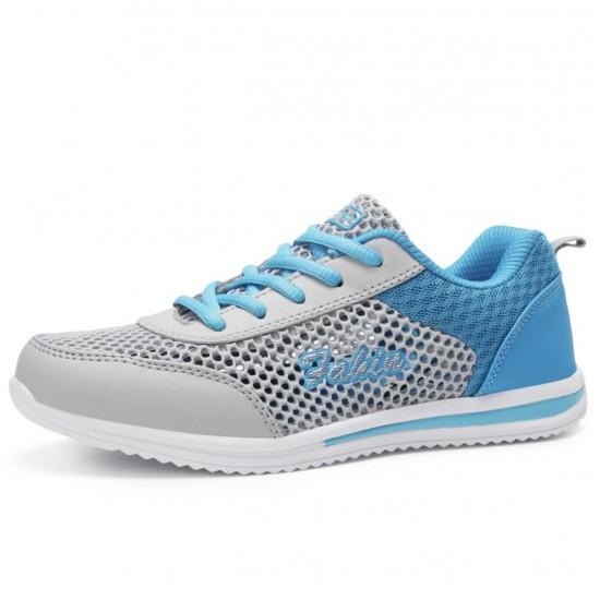 Zapatillas tenis deportivas transpirables de malla para mujer ZAP00007A
