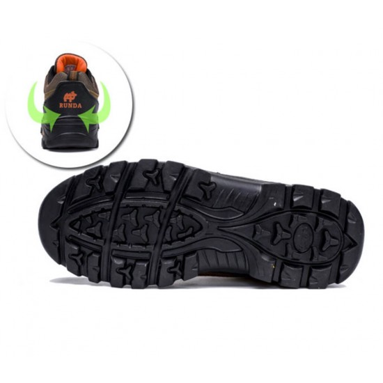 Zapatos de Senderismo Resistente al Agua, Antideslizante, Ligero ZAP00049C