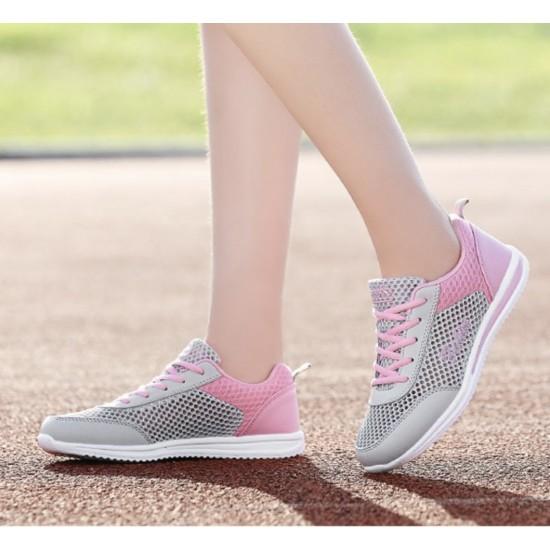 Zapatillas tenis deportivas transpirables de malla para mujer ZAP00007B