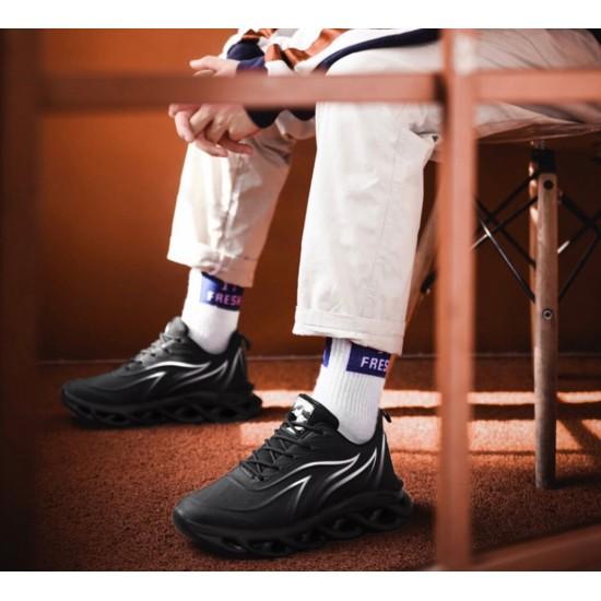 Tenis atléticos a la moda para caminar para hombre ZAP00052