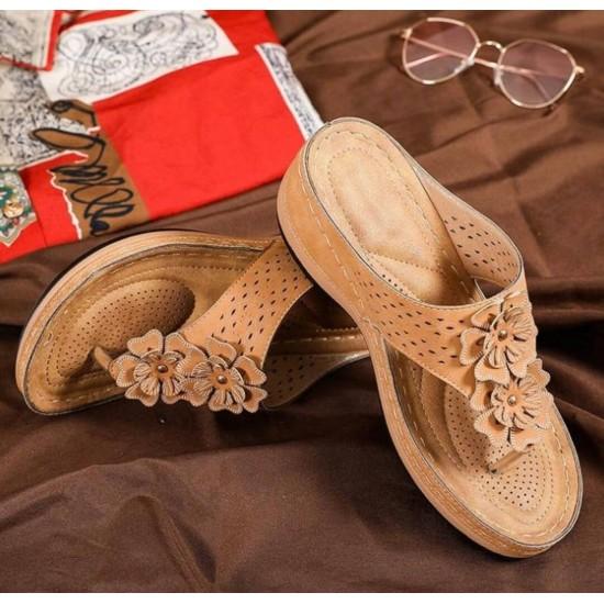 Sandalias de cuña para mujer verano ZAP00063A
