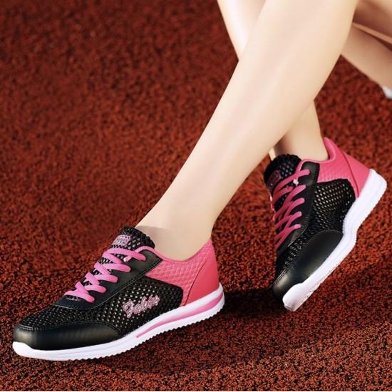 Zapatillas tenis deportivas transpirables de malla para mujer ZAP00007C