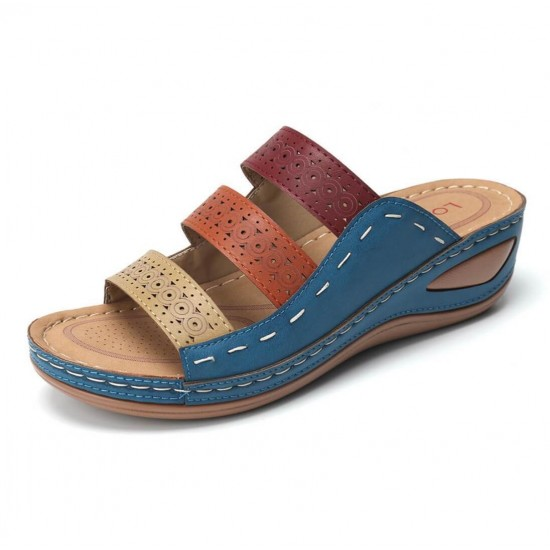 Sandalias de mujer (azul) ZAP00041A