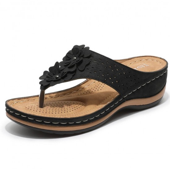 Sandalias de cuña para mujer verano ZAP00063B