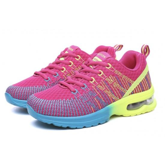 Zapatillas de tenis ligeras para correr para mujer, transpirables ZAP00008A