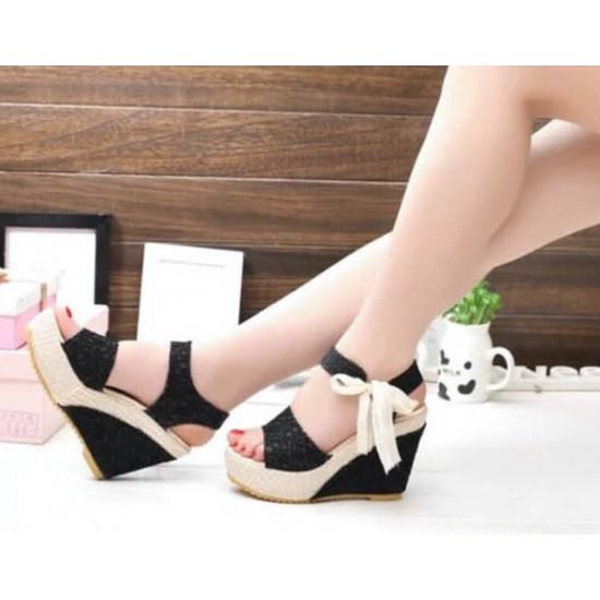 Sandalias de alpargatas para mujer, sandalias de plataforma ZAP00016A