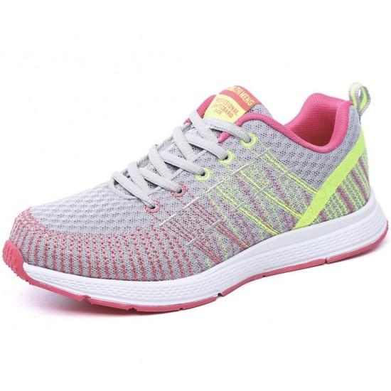 Zapatillas de tenis ligeras para correr para mujer, transpirables ZAP00008B