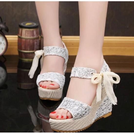 Sandalias de alpargatas para mujer, sandalias de plataforma ZAP00016B