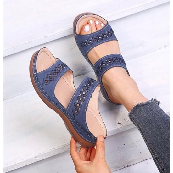 Sandalias de mujer (azul) ZAP00042A