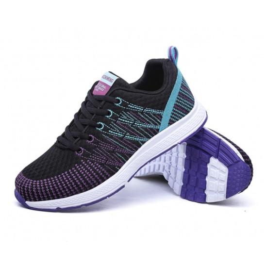 Zapatillas de tenis ligeras para correr para mujer, transpirables ZAP00008C
