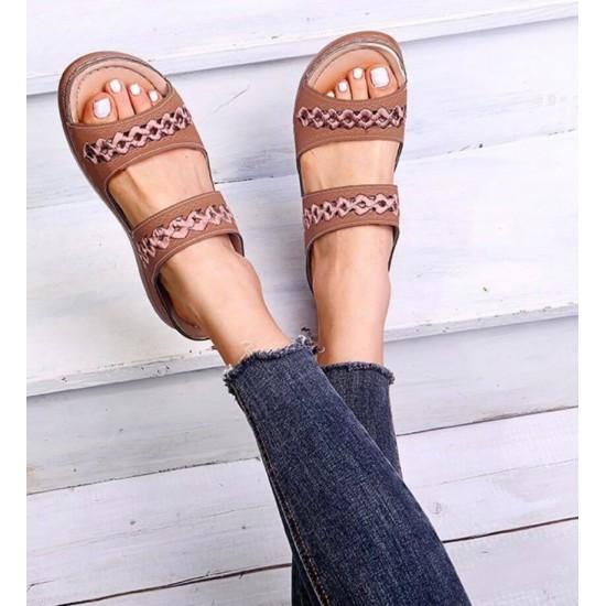 Sandalias de mujer (café) ZAP00042B