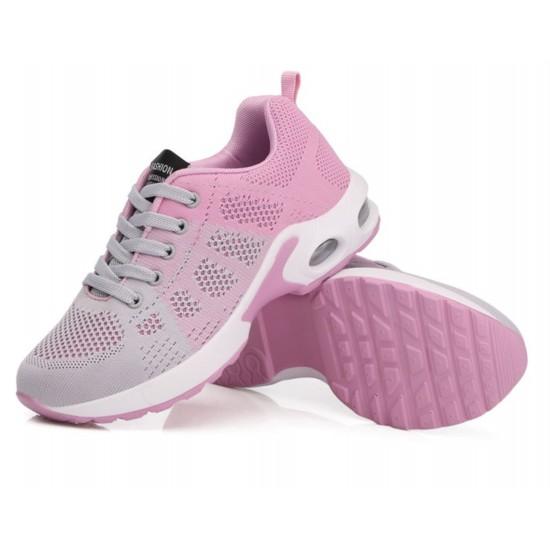 Zapatillas de tenis ligeras para correr para mujer, transpirables ZAP00008D