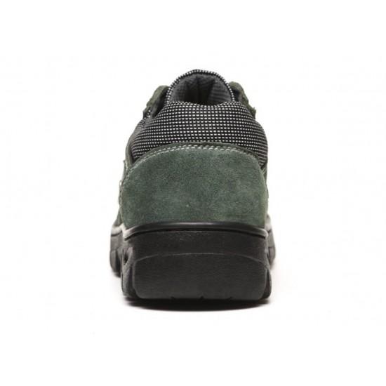 Zapatos de cuero para trabajo con punta de acero, antideslizantes ZAP00056