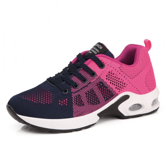 Zapatillas de tenis ligeras para correr para mujer, transpirables ZAP00008E