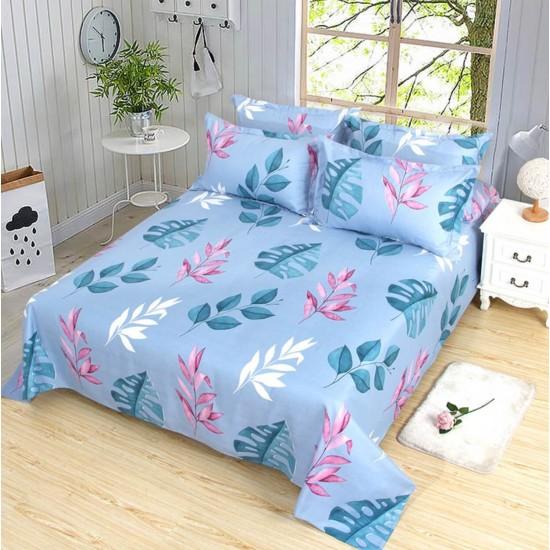Ropa de cama, sábana y dos fundas SAB00005A