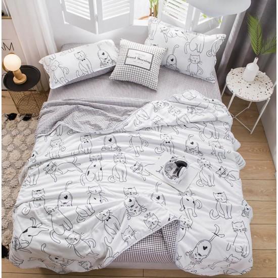 Ropa de cama de alta calidad, juego de 4 piezas SAB00007T