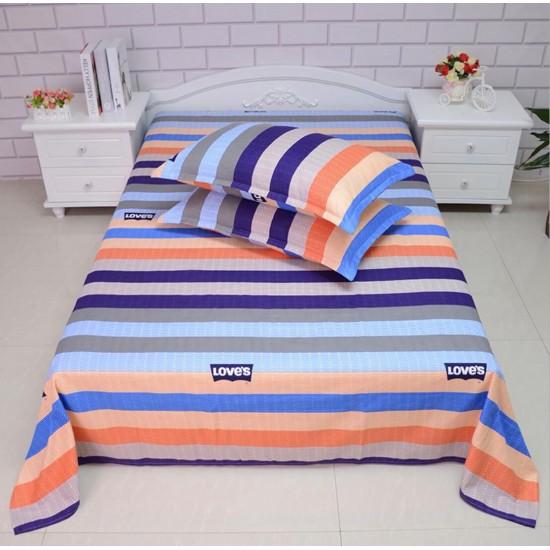 Ropa de cama de alta calidad, sábana y dos fundas, juego de 3 piezas SAB00010A