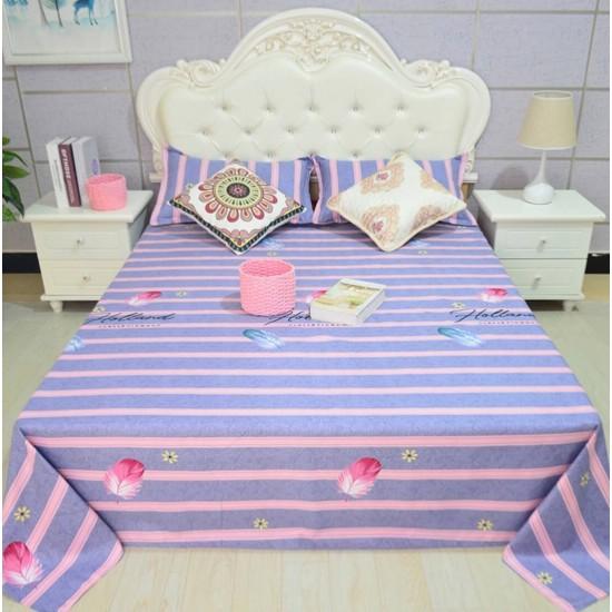 Ropa de cama de alta calidad, sábana y dos fundas, juego de 3 piezas SAB00010C