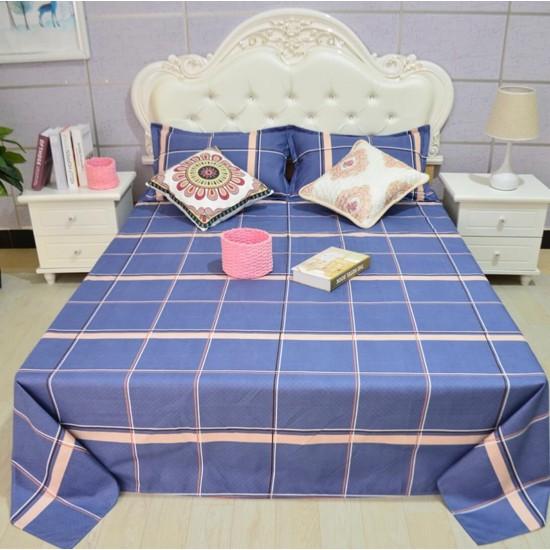 Ropa de cama de alta calidad, sábana y dos fundas, juego de 3 piezas SAB00010D