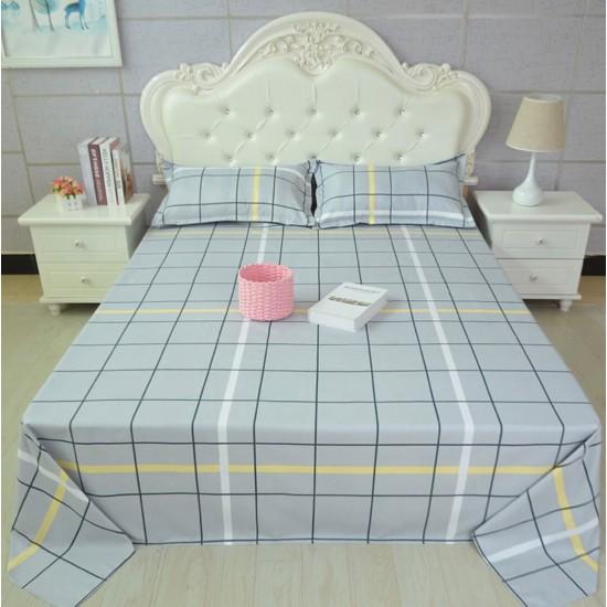 Ropa de cama de alta calidad, sábana y dos fundas, juego de 3 piezas SAB00010E