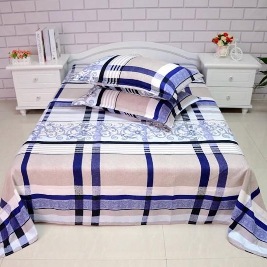 Ropa de cama de alta calidad, sábana y dos fundas, juego de 3 piezas SAB00010F