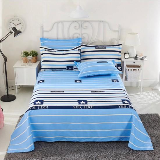Ropa de cama, sábana y dos fundas SAB00005K